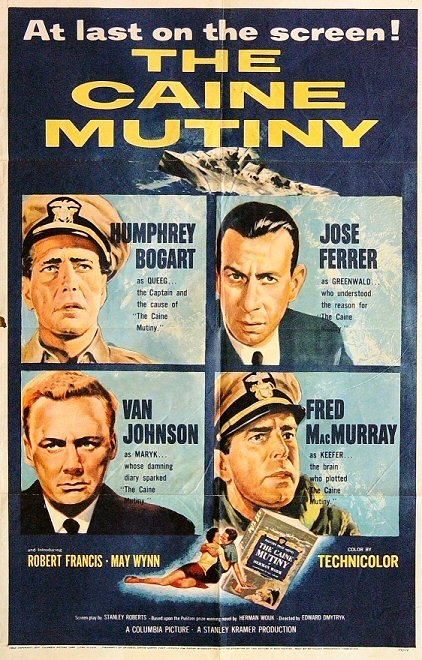 caine mutiny poster