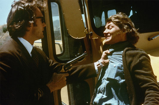 Clint Eastwood en Andy Robinson in Dirty Harry