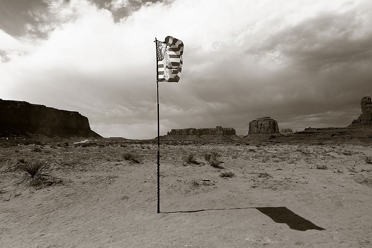 Monument Valley flag