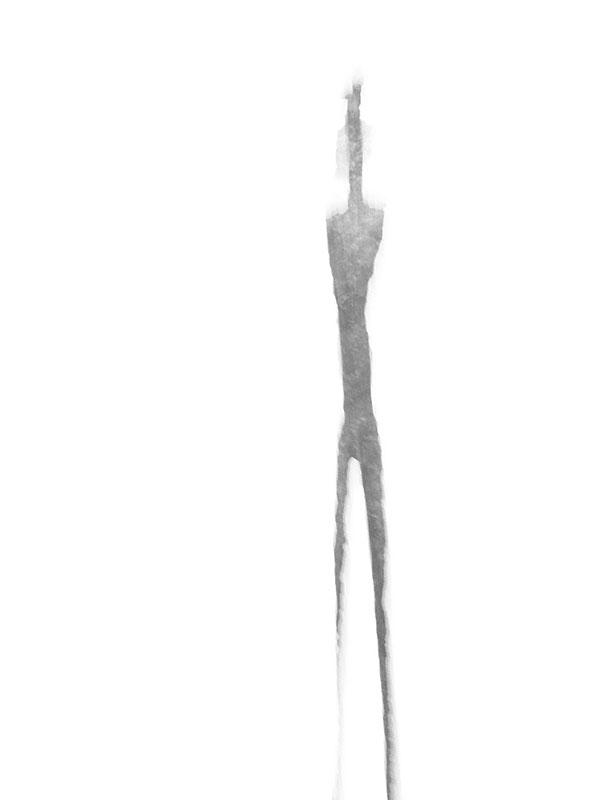 De fragiliteit van Giacometti's werk wordt nog versterkt als de blik erop vluchtig is.