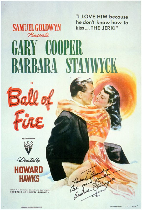 ball of fire_ poster